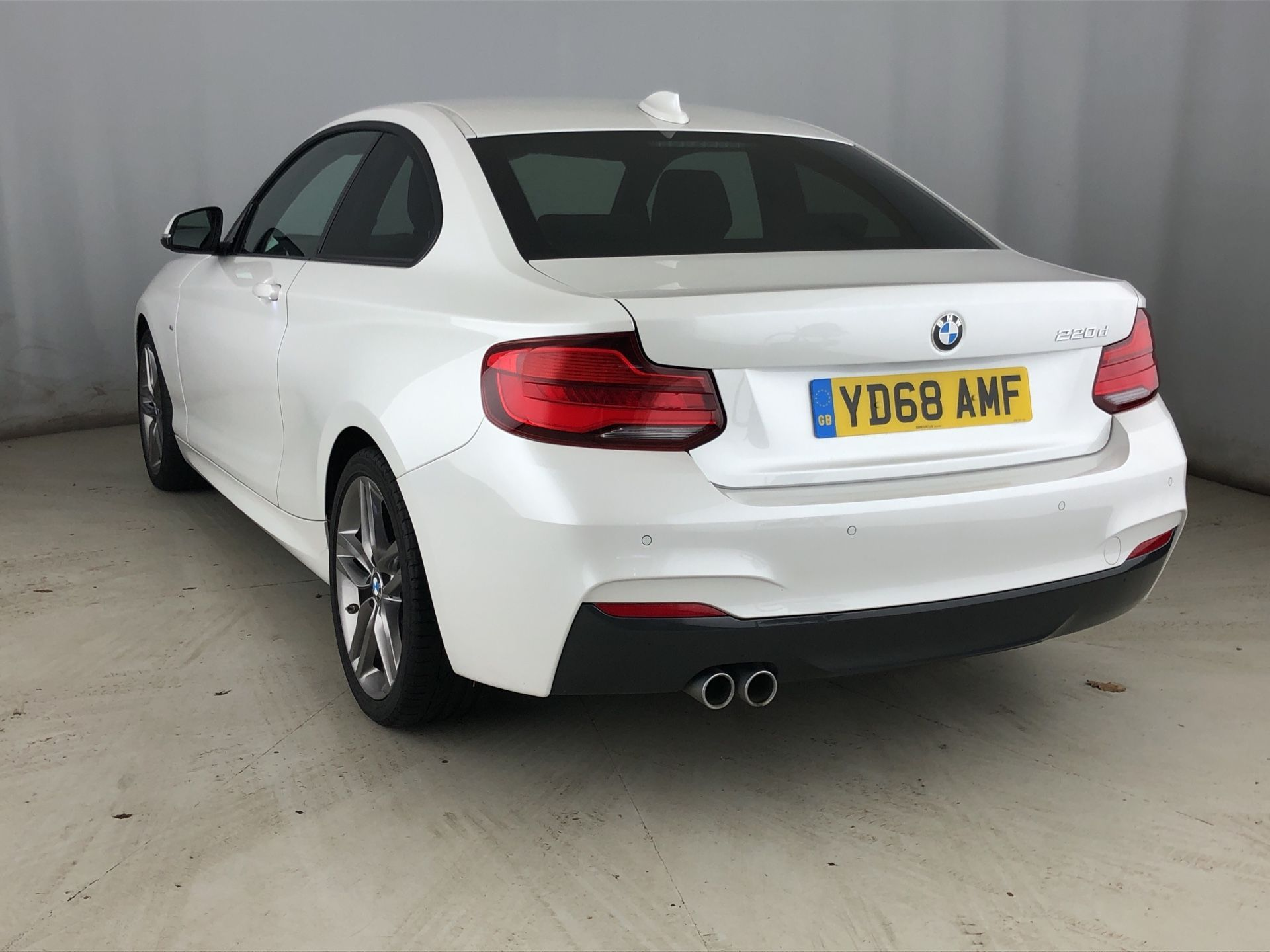 Image 2 - BMW 220d M Sport Coupe (YD68AMF)