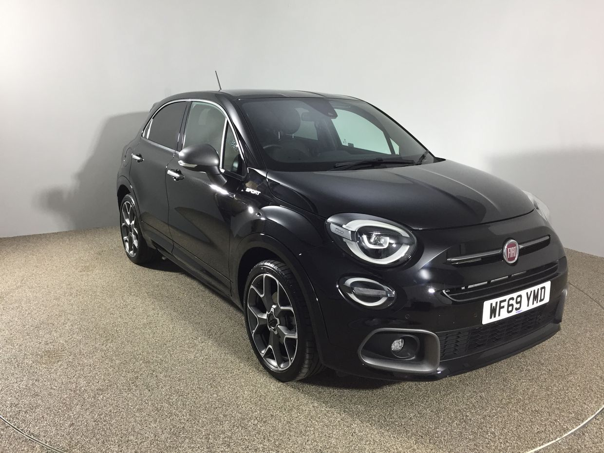 Used Fiat 500x Petrol Black 5dr 2019 For Sale In Exeter Used Approved Fiat