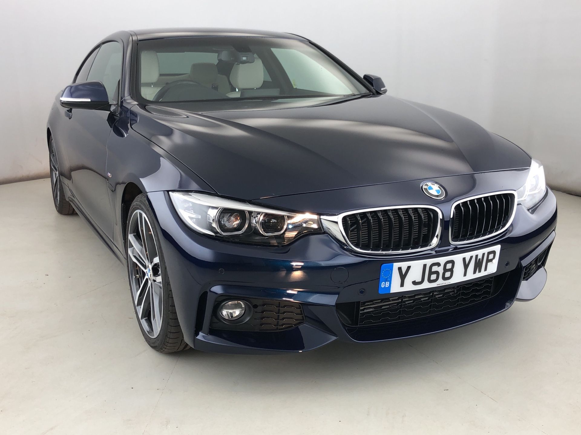 Image 1 - BMW 420d M Sport Coupe (YJ68YWP)