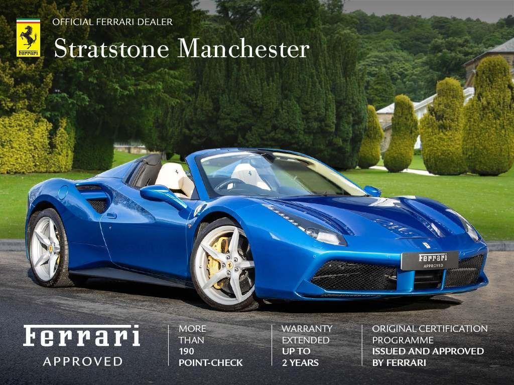 Blue Ferrari 488 Used Cars For Sale Autotrader Uk