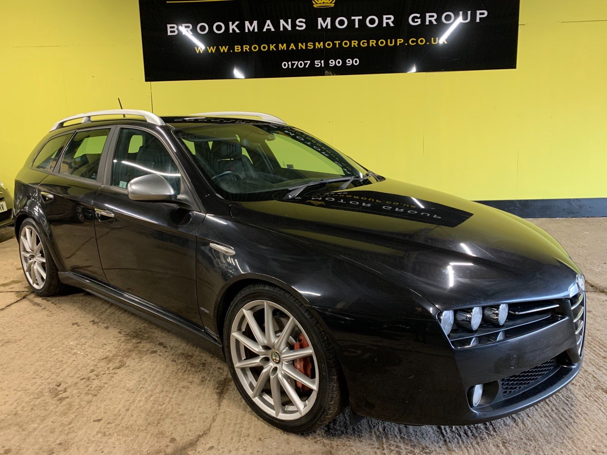Black Alfa Romeo 159 Sportwagon Used Cars For Sale Autotrader Uk