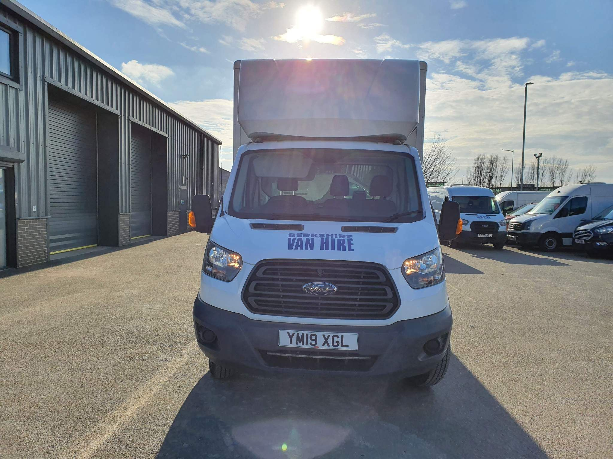 Ford Transit 350 Luton TAIL LIFT Luton Tail Lift For Sale