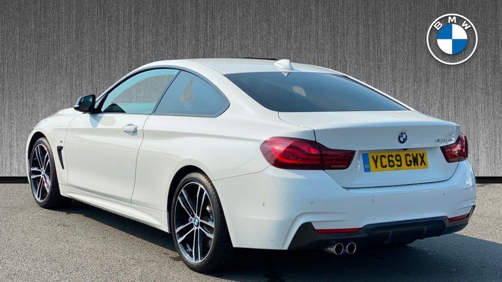 Image 2 - BMW 420d M Sport Coupe (YC69GWX)
