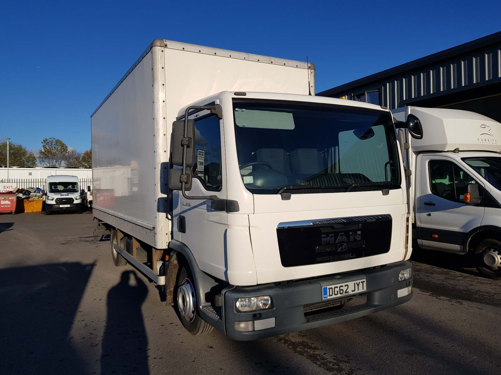 MANTGL 7.150 Box Tail Lift7.150 4X2 For Sale