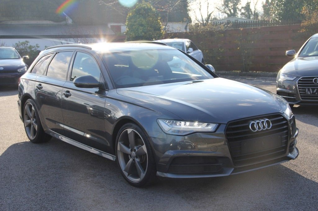 Audi A6 BLACK EDITION ULTRA 190BHP S TRONIC * low kms * FULLY COMPREHENSIVE WARRANTY * TRADE-IN WELCOME * FINANCE AVAILABLE