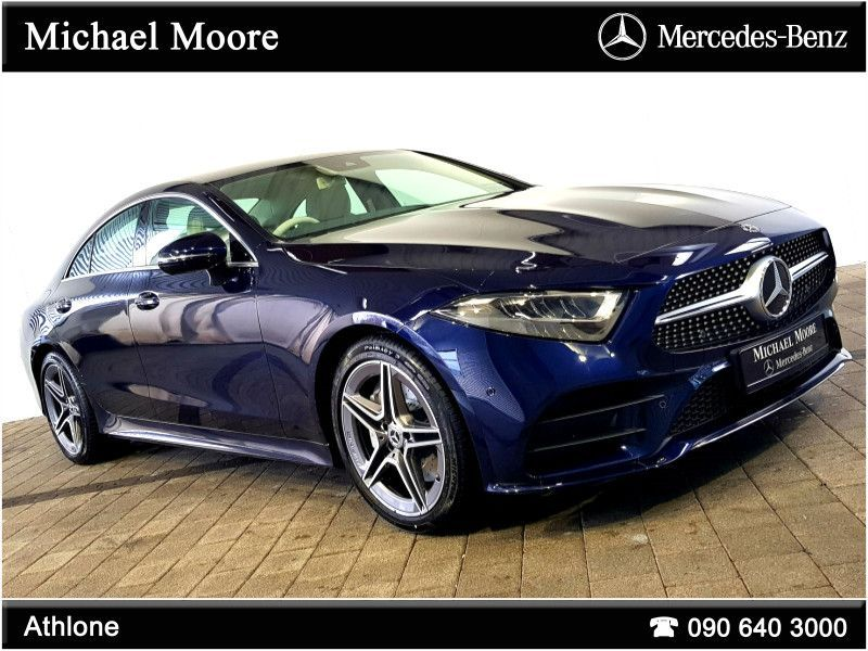 Mercedes-Benz CLS-Class CLS300d COUPE AMG LINE AUTO (TWIN TURBO)