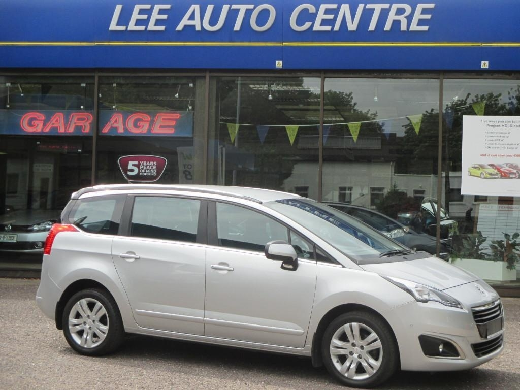 Peugeot 5008 Active 1.6HDI 115BHP Low Miler OUTSTANDING MPV €270 R.TAX Full Service History New Model.