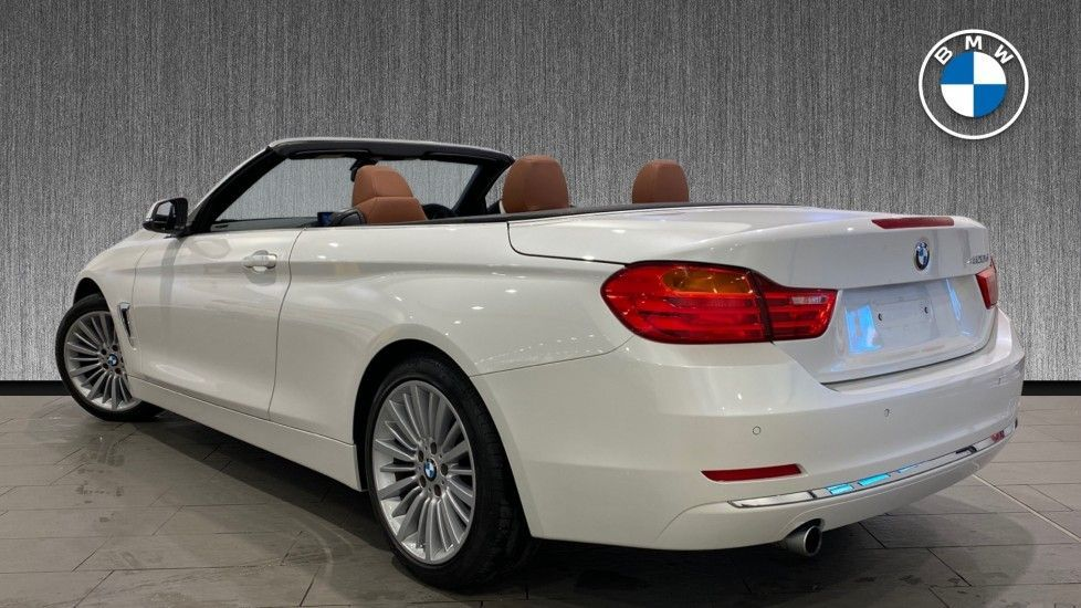 Image 2 - BMW 420d Luxury Convertible (YG14TXK)