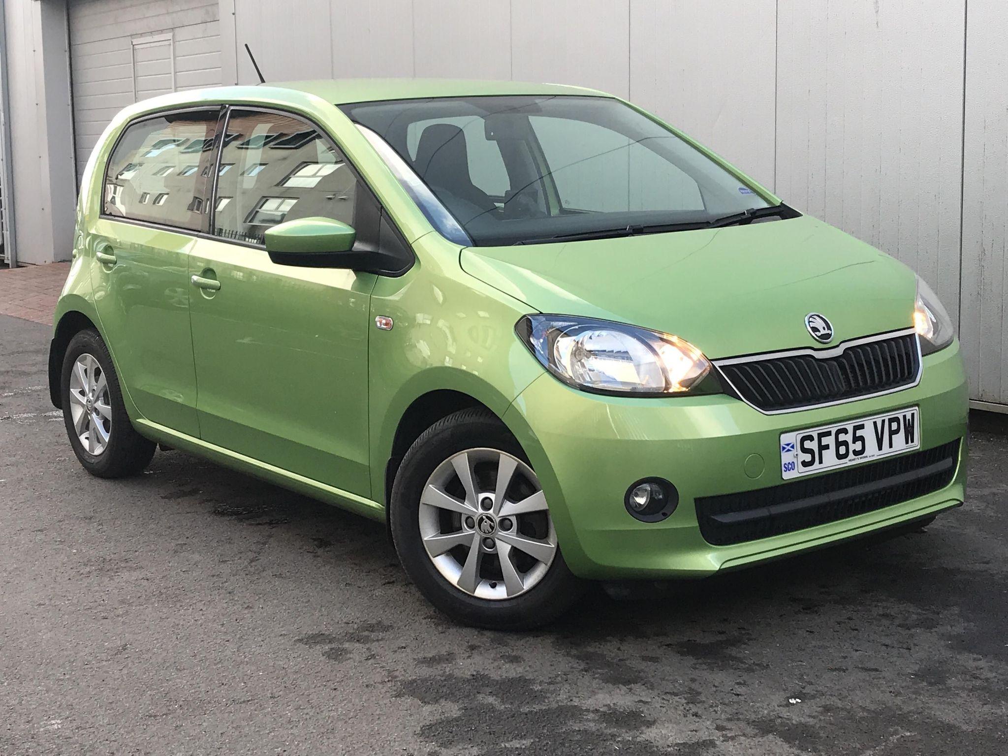 ŠKODA Citigo 1.0 MPI (75PS) SE L GreenTech Hatchback 5Dr