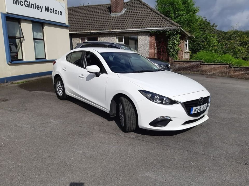 Used Mazda Mazda3 1.5 D 105PS EXECUTIVE IPM 4 4DR (2016 (162))