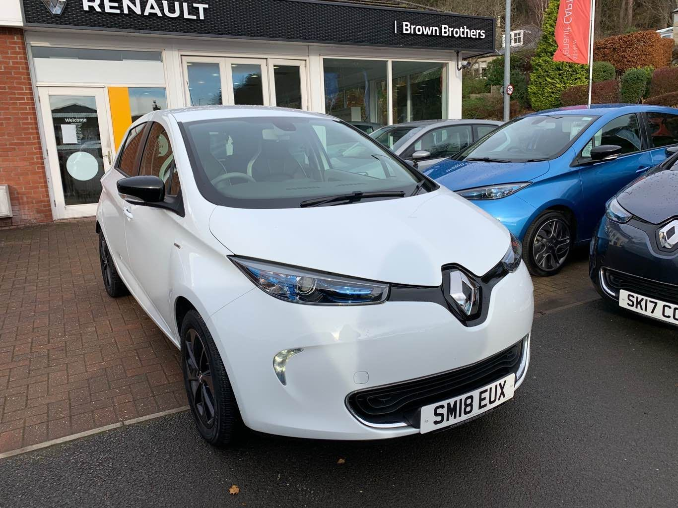 Renault Zoe Signature Nav R90 Z.E.40 Lease Battery