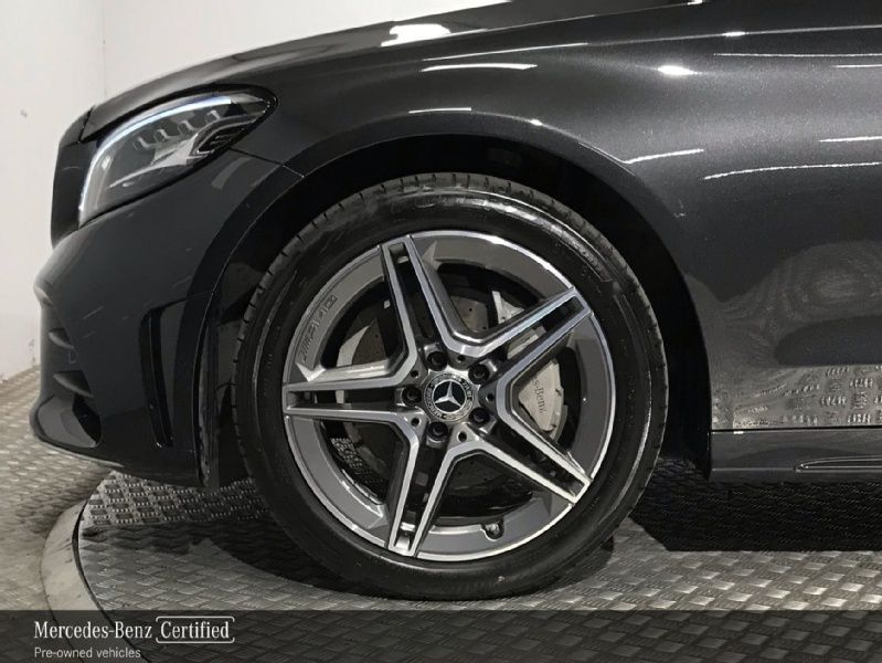 Used Mercedes-Benz C-Class 200 AMG Exterior Automatic - 18 Inch Alloy Wheels - Bluetooth Phone - Reversing Camera - Cruise Control - Heated Front Seats - Dual Climate Control (2020 (202))