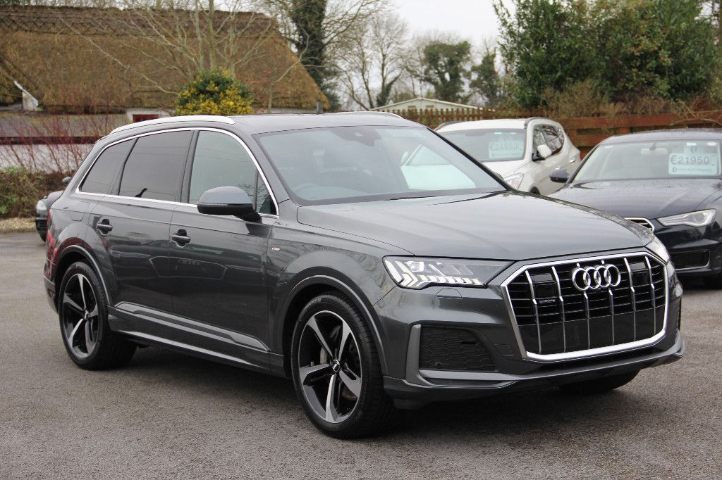 Audi Q7 €109,587RRP 192 New Model S LINE 50 TDI 286BHP Mild Hybrid with spec * Partial finance available
