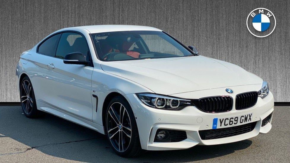 Image 1 - BMW 420d M Sport Coupe (YC69GWX)