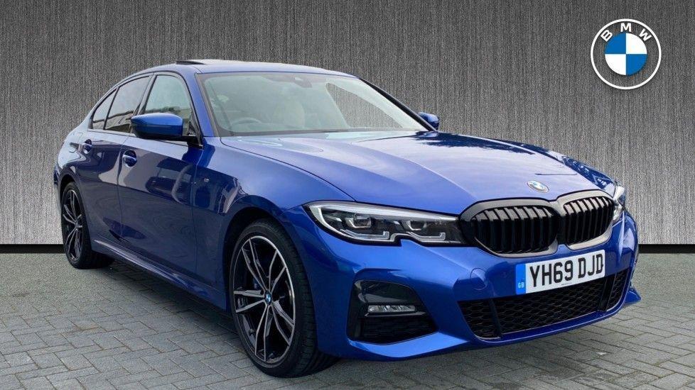 Image 1 - BMW 330e M Sport Saloon (YH69DJD)