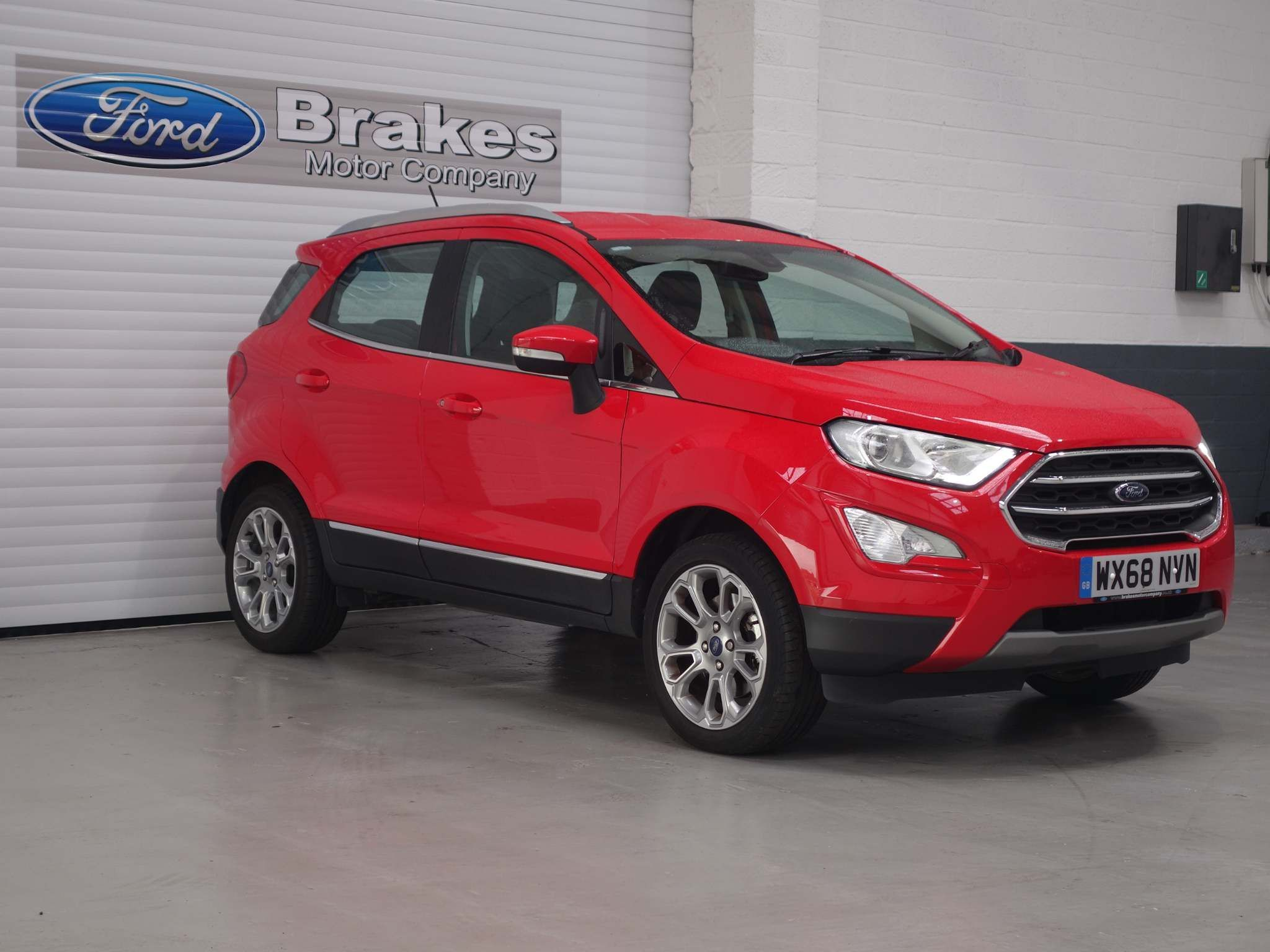 Ford EcoSport 1.0T EcoBoost Titanium (s/s) 5dr – WX68NVN