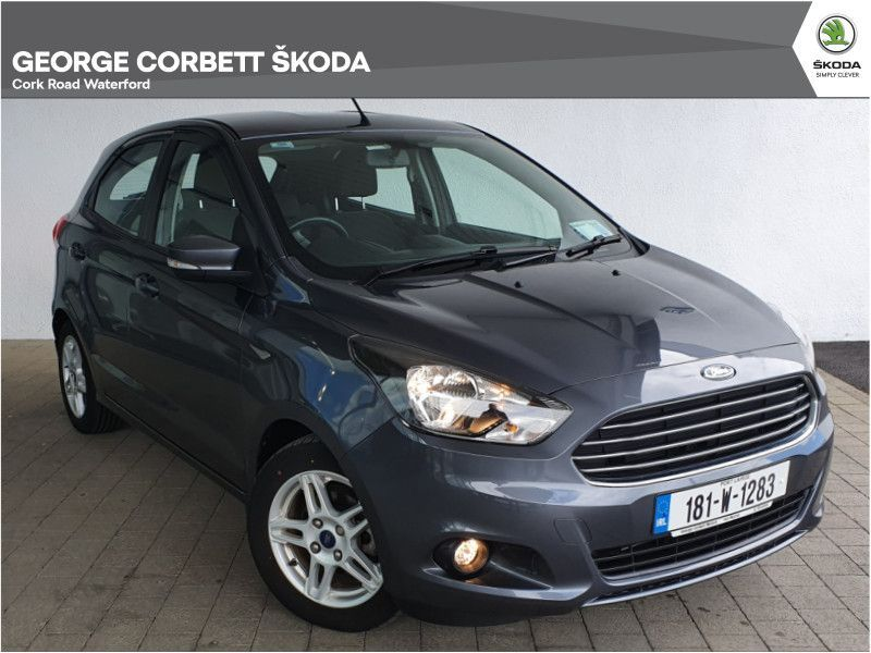 Ford Ka Zetec 1.2 85PS 4DR, Very Low Mileage (From €49 per week)