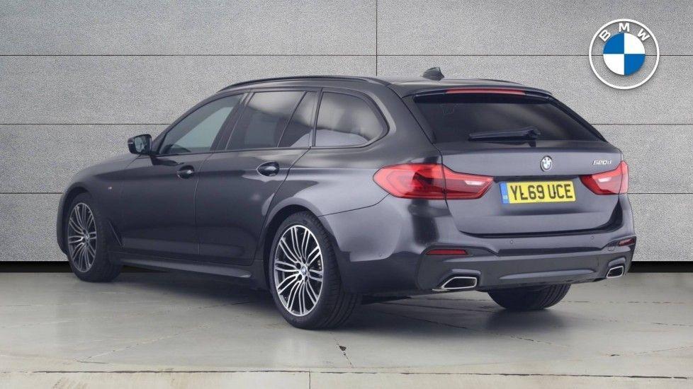 Image 2 - BMW 520d M Sport Touring (YL69UCE)