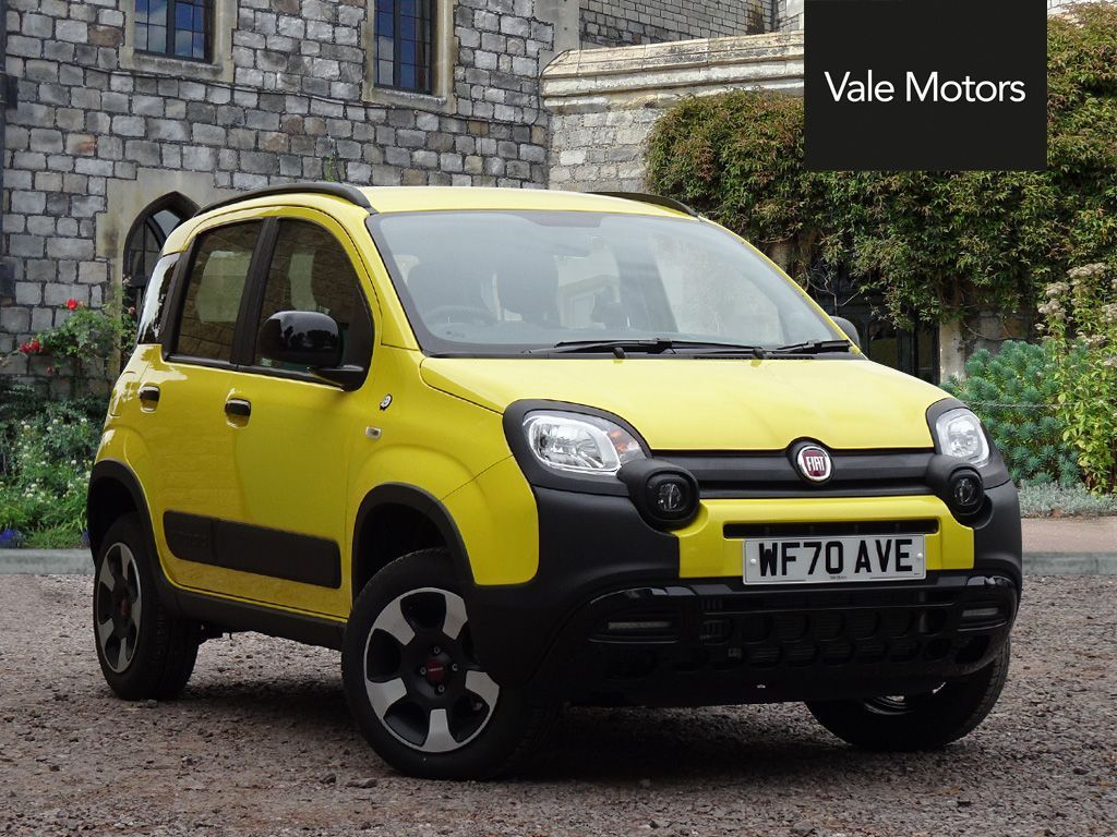 Used Fiat Panda Petrol Yellow 5dr 2020 For Sale In Wincanton Used Approved Fiat