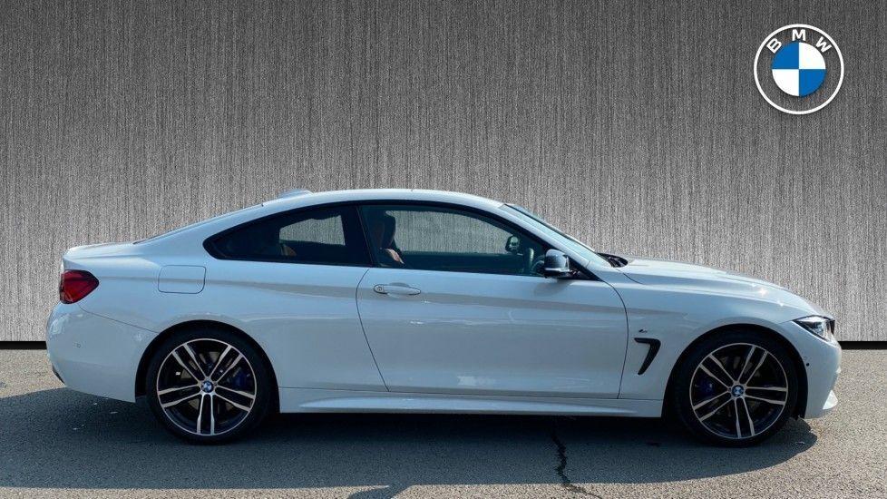 Image 3 - BMW 420d M Sport Coupe (YC69GWX)