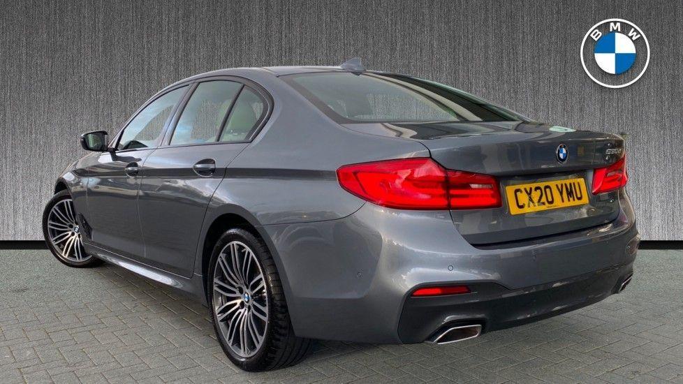 Image 2 - BMW 530d M Sport Saloon (CX20YMU)