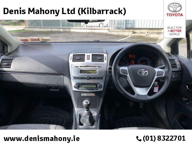 Used Toyota Avensis AVENSIS 2.0 D4D AURA @ DENIS MAHONY KILBARRACK (2013 (131))