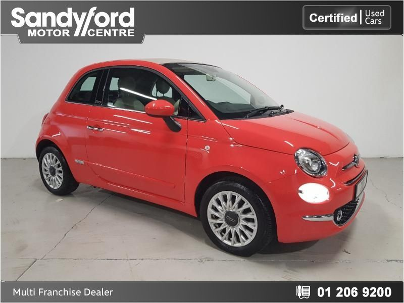 Fiat 500C Lounge Convertible From 186 p/m** 1.2 Petrol