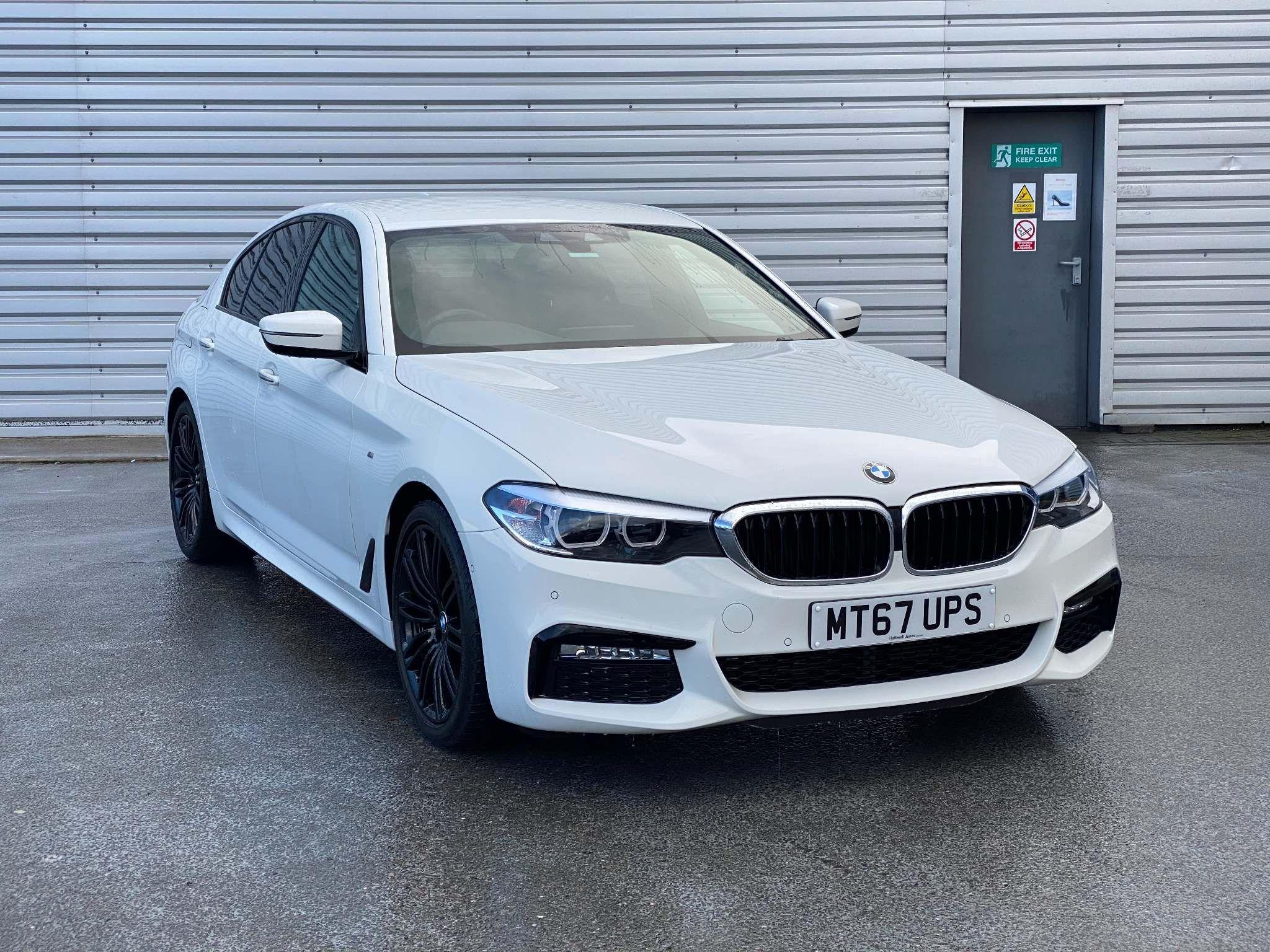 Image 1 - BMW 520d M Sport Saloon (MT67UPS)