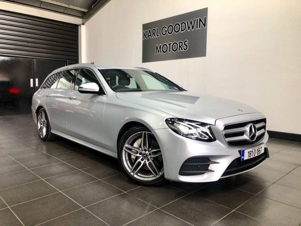 Mercedes-Benz E-Class E220 D AMG LINE ESTATE 7 SEATER