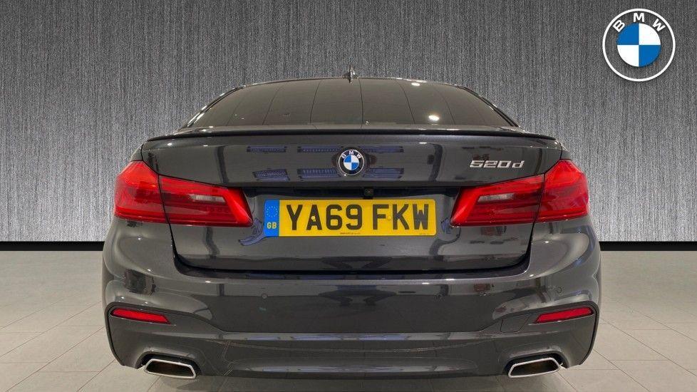 Image 15 - BMW 520d M Sport Saloon (YA69FKW)