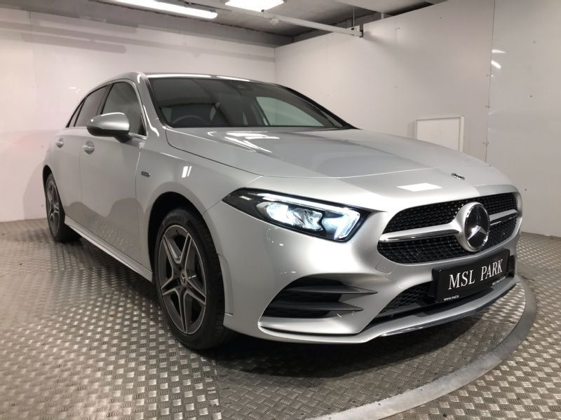 Used Mercedes-Benz A-Class 250e AMG Plug-In Hybrid - Reversing Camera - Satellite Navigation - Climate Control - Heated Seats - Auto Lights & Wipers - Cruise Control (2021 (211))
