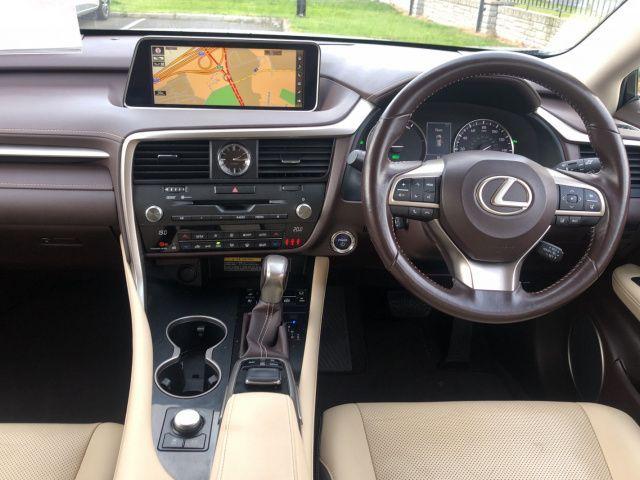 Used Lexus RX450H 450H 3.5 LUXURY (2016 (161))