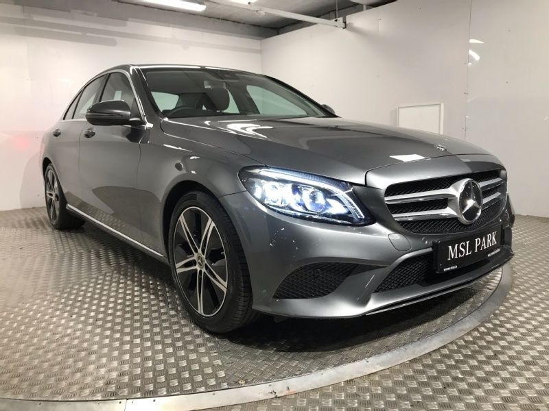 Used Mercedes-Benz C-Class 220d Automatic - Reversing Camera - Leather Interior - Cruise Control - Climate Control - Heated Seats - Sat Nav (2020 (202))