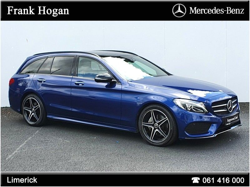 Mercedes-Benz C-Class C220d AMG ESTATE 2.2 Diesel 170 BHP (IRISH CAR ONE OWNER FROM NEW ONLY 109.000 KMS )