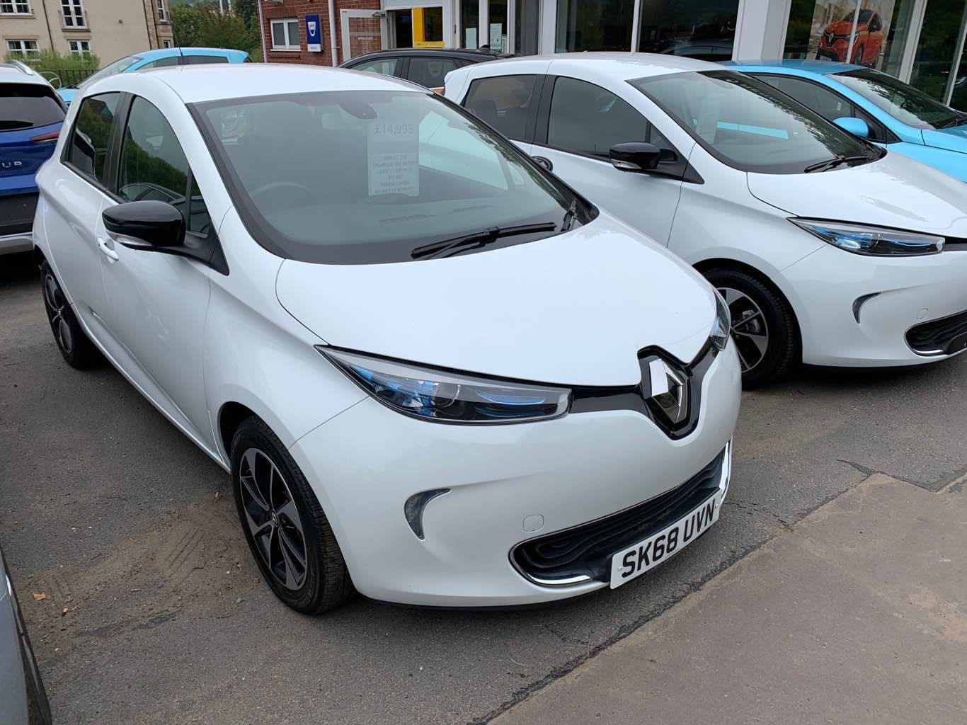 Renault Zoe Dynamique Nav R110 Z.E.40 Lease Battery