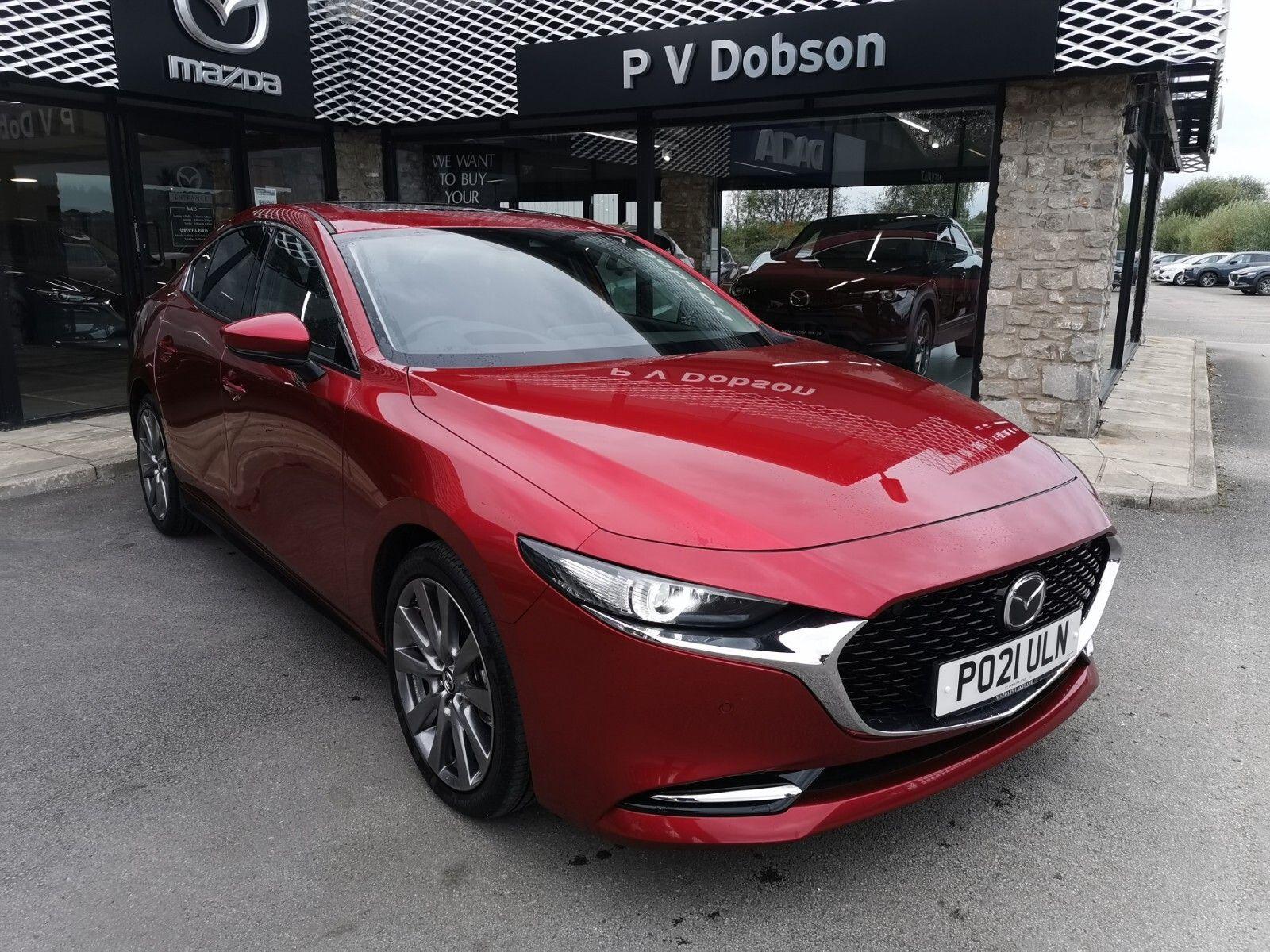 Mazda 3 2.0 e-Skyactiv-X MHEV [186] Sport Lux 4dr Auto