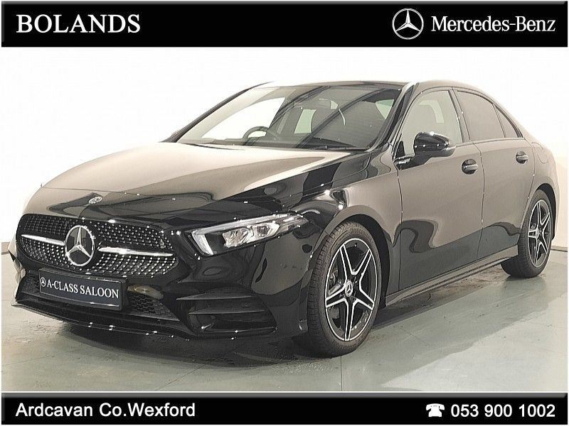 Mercedes-Benz A-Class A180 AMG Line Saloon with Nightpack & Smartphone Integration
