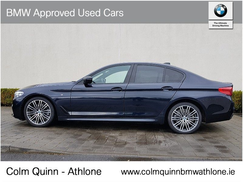Used BMW 5 Series 520d M Sport Saloon (2019 (191))
