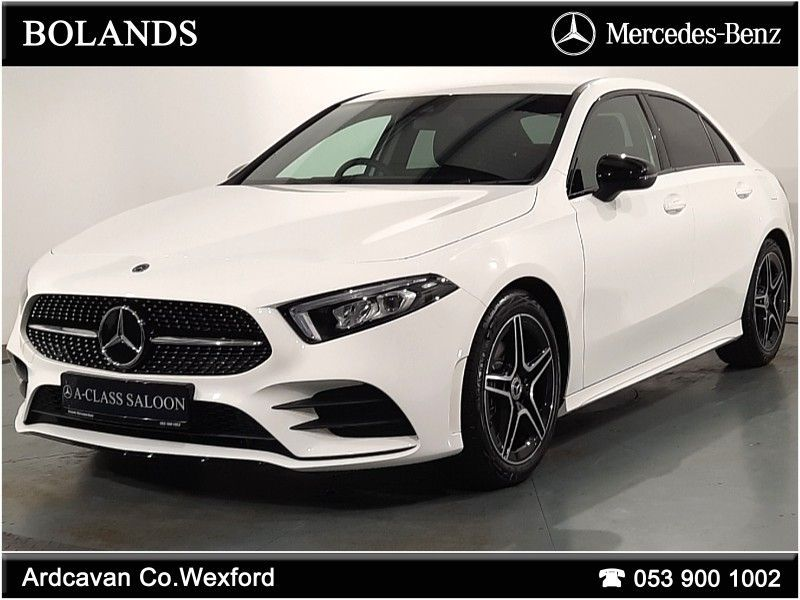 Mercedes-Benz A-Class 180D Saloon AMG Line + Nightpack from €496 per month*