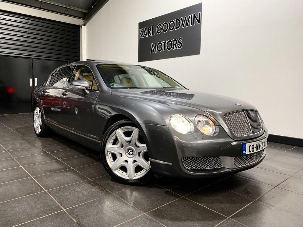 Bentley Continental Flying Spur 6.0 W12 MULLINER EDITION