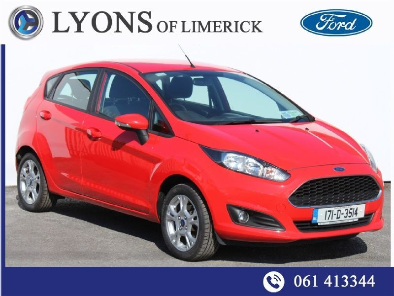 Ford Fiesta ZETEC 1.0 65PS M5 4DR Call Stephen 087 6674103