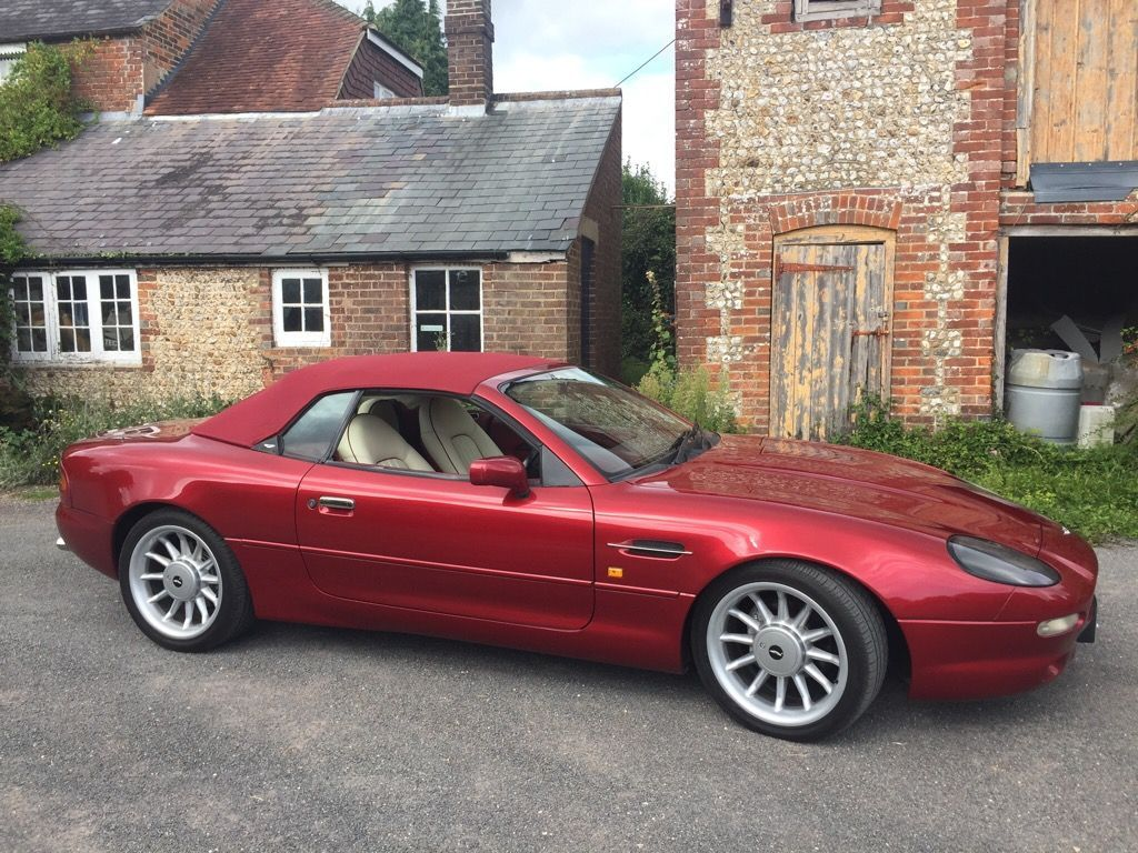 Red Aston Martin Db7 Used Cars For Sale Autotrader Uk