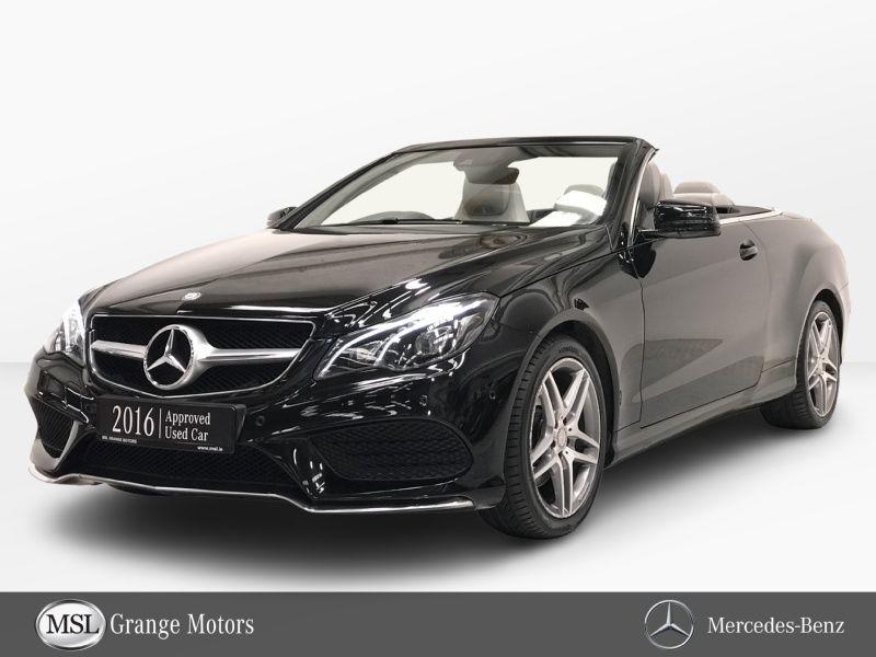Mercedes-Benz E-Class E220 D Cabrio AMG Line Auto