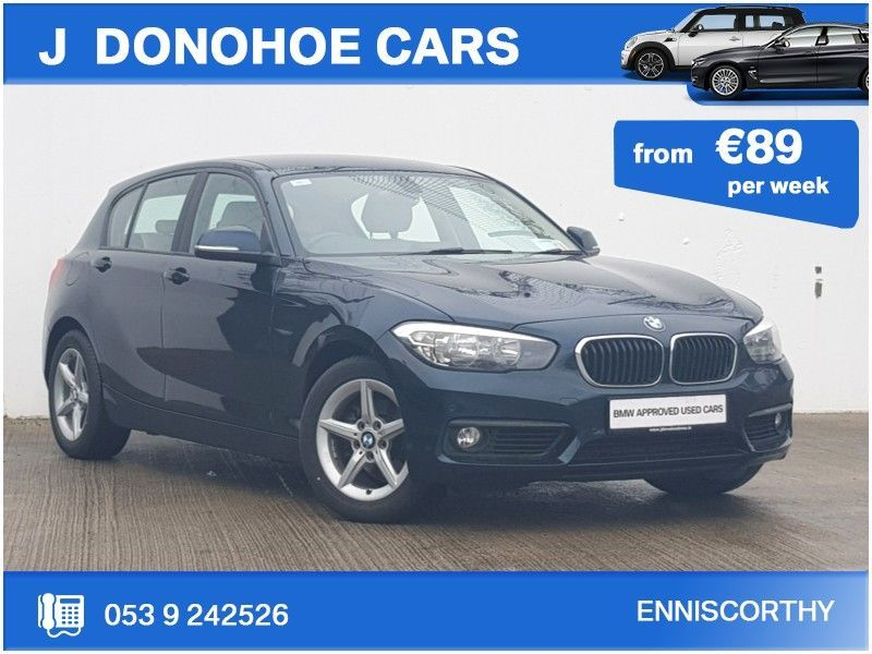 BMW 1 Series 118d SE Auto From €89 per week