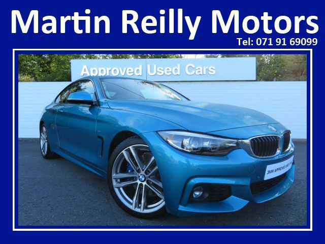 BMW 4 Series 420d M Sport Coupe - Plus Pack