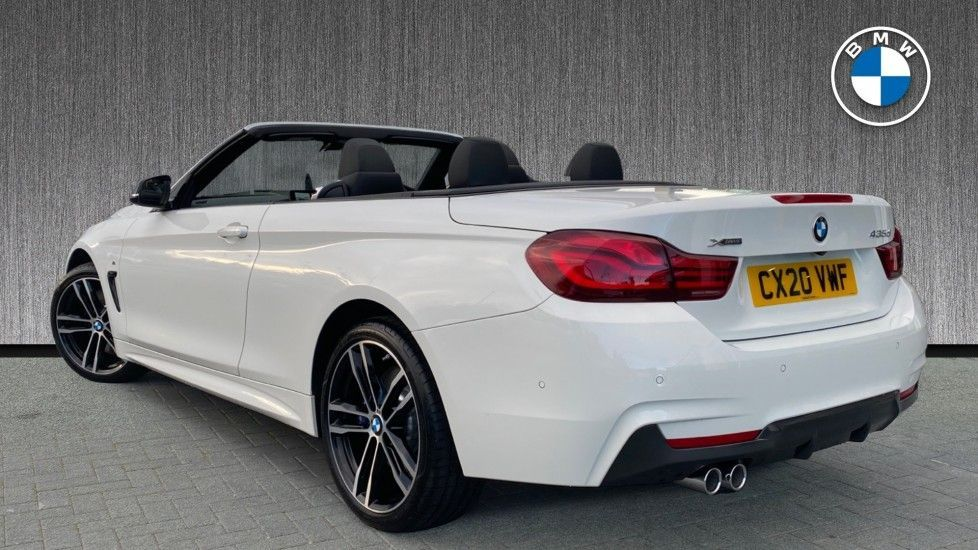 Image 2 - BMW 435d xDrive M Sport Convertible (CX20VWF)