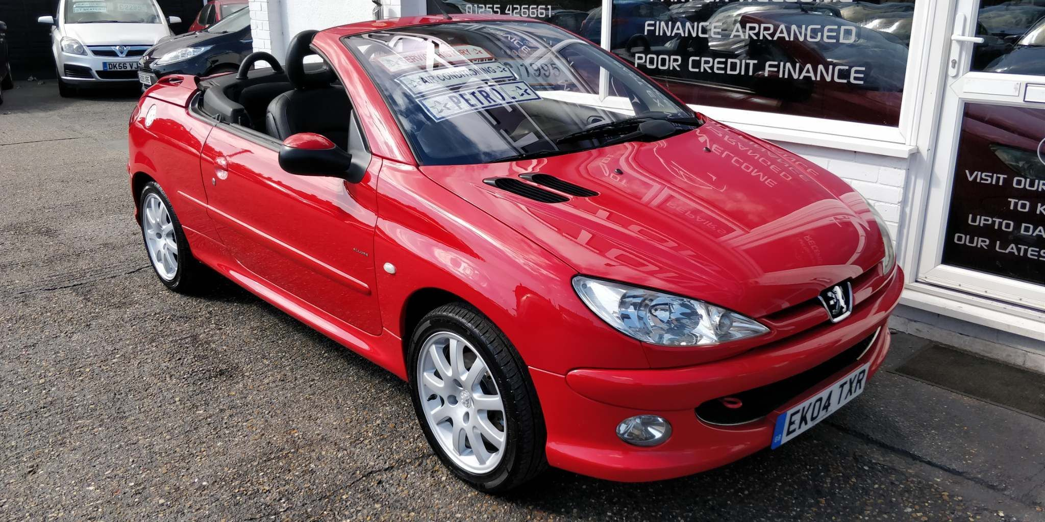 Red Peugeot 206 Cc Used Cars For Sale Autotrader Uk