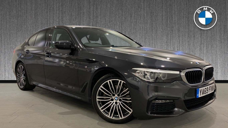 Image 17 - BMW 520d M Sport Saloon (YA69FKW)