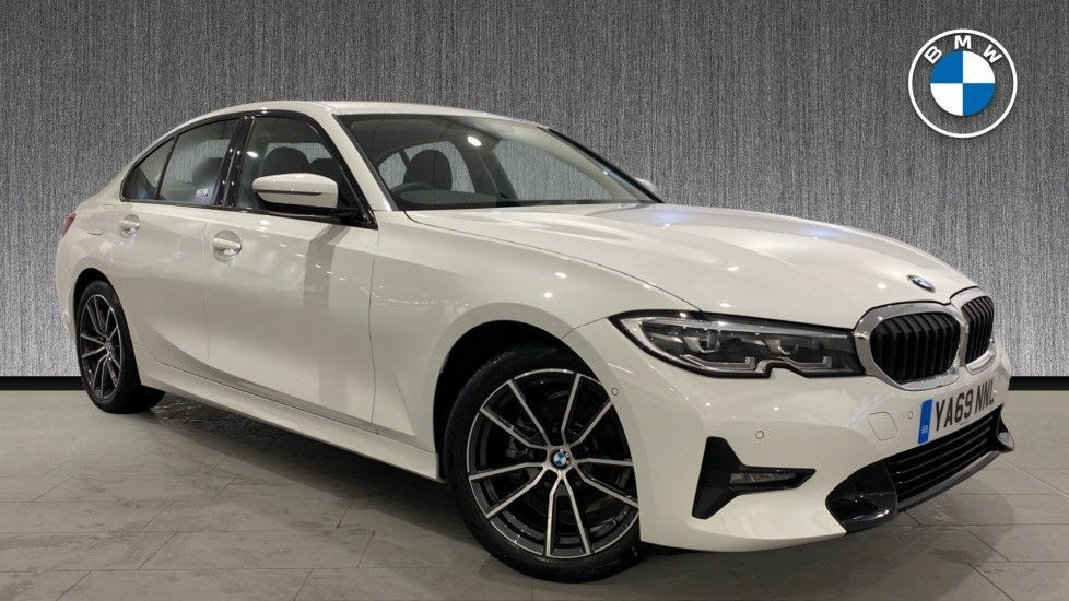 Image 1 - BMW 318d Sport Saloon (YA69NNL)