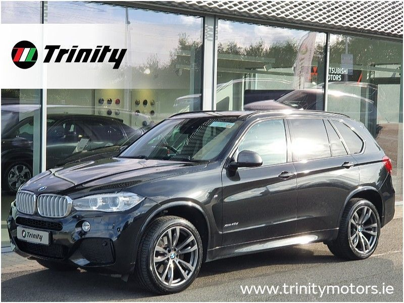 BMW X5 ** 40 D ** M SPORT ** X DRIVE ** 7 SEAT ** HUGE SPEC ** TRINITY MOTORS **